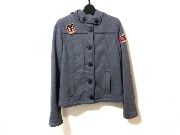tommy girl(トミーガール) コート サイズM レディース美品  ネイビー ショート丈/冬物
