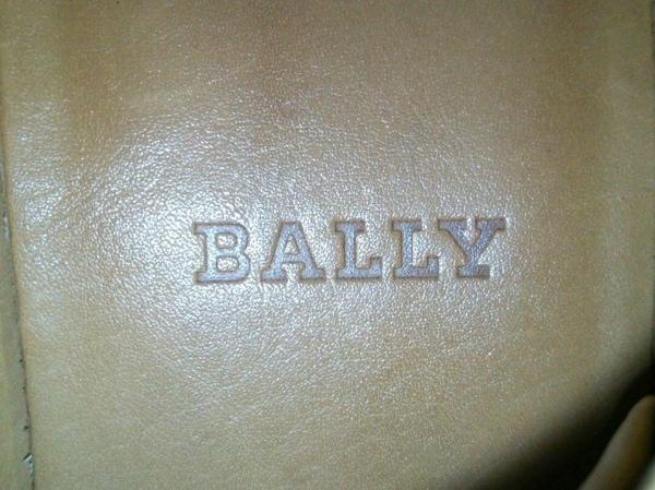 BALLY(バリー) スニーカー レディース 黒×ベージュ レザー 5