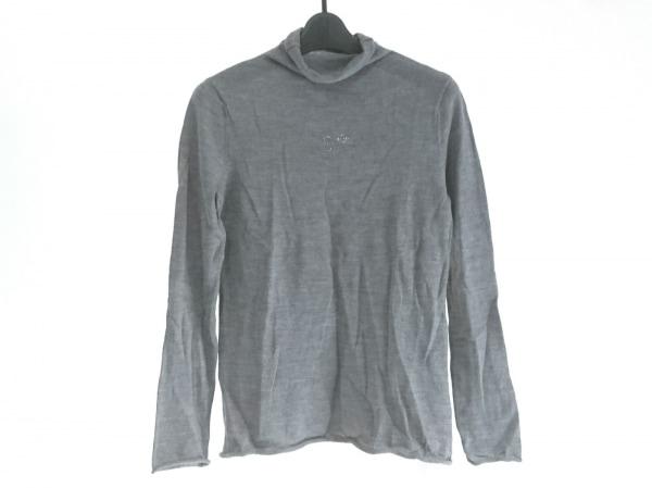 PICONE(ピッコーネ) 長袖セーター サイズ38 S レディース美品  グレー×パープル