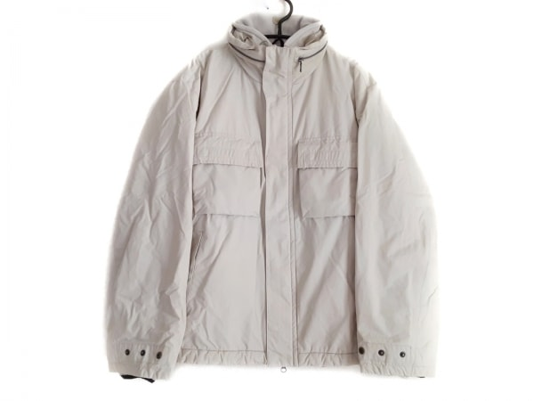 NAUTICA(ノーティカ) ダウンジャケット サイズM メンズ ライトグレー 冬物