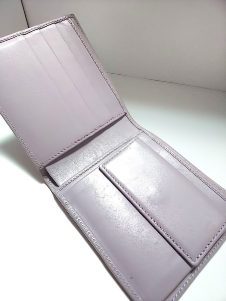 GUCCI(グッチ) 2つ折り財布 GG柄 04862 アイボリー×ライトグレー×ライトパープル