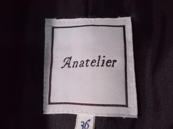 anatelier(アナトリエ) コート サイズ36 S レディース新品同様  ダークネイビー 冬物