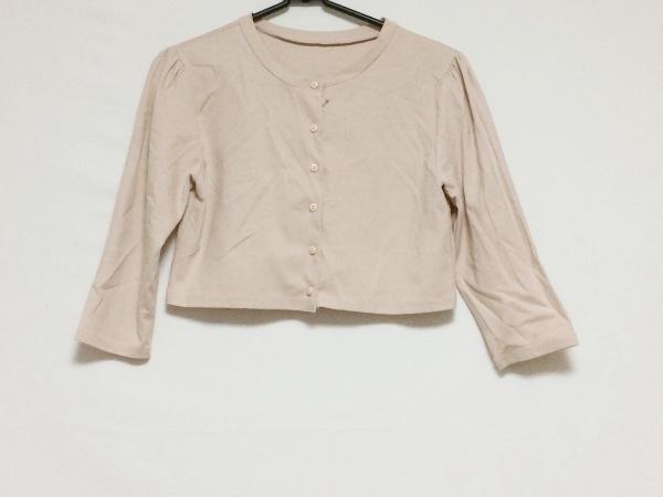 193ee9640385a Tiaclasse(ティアクラッセ) ボレロ サイズL レディース美品 ピンクの古着 ...