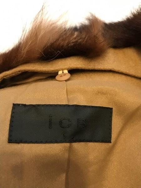 ICB(アイシービー) ブルゾン サイズ15 L レディース美品  ライトブラウン