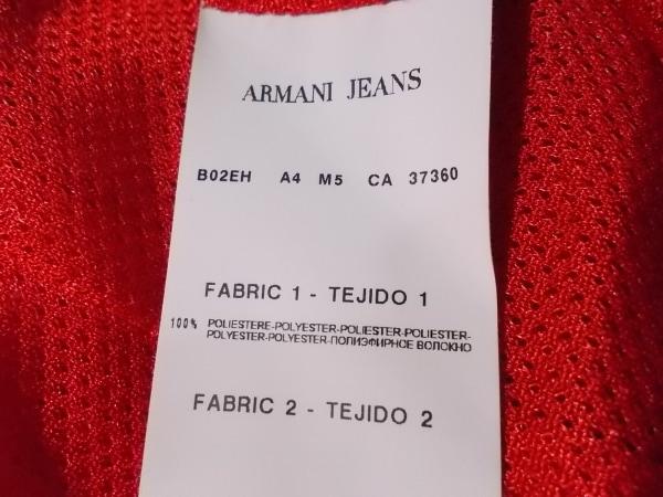 アルマーニジーンズ ブルゾン サイズ40 M レディース美品  レッド 春・秋物