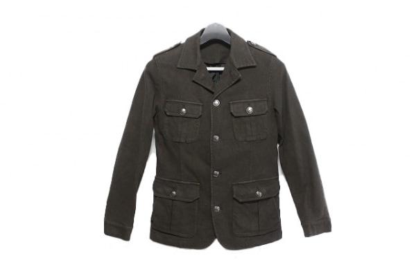 ティーケータケオキクチ ジャケット サイズ2 M メンズ ブラウン 冬物