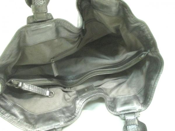 GIVENCHY(ジバンシー) トートバッグ - シルバー レザー