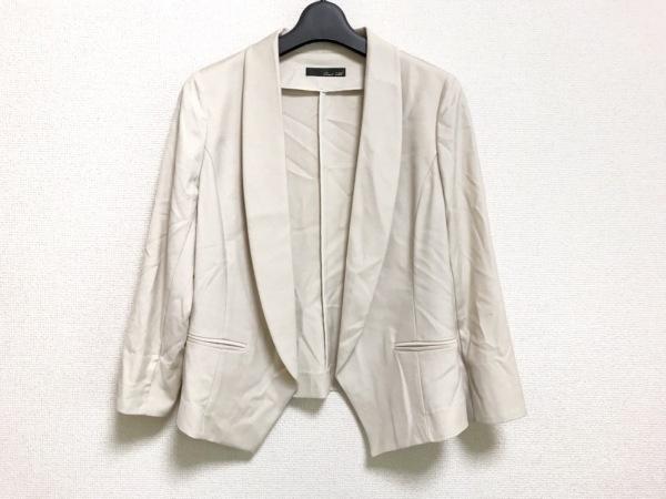 Grand Table(グランターブル) ジャケット サイズ9 M レディース アイボリー 春・秋物