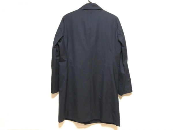 フランコプリンツィバァリー コート サイズ48 XL メンズ 黒 冬物/ネーム刺繍