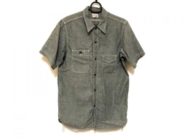 JOE MCCOY(ジョーマッコイ) 半袖シャツ サイズ16 メンズ グレー