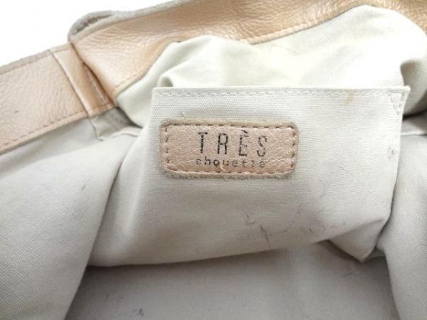 TRES(トレ) ショルダーバッグ ライトブラウン レザー