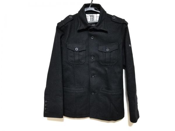 Burberry Black Label(バーバリーブラックレーベル) コート サイズM メンズ美品  黒