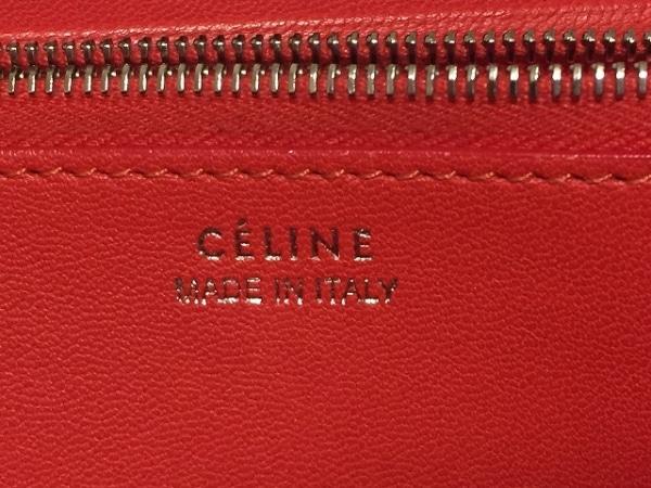CELINE(セリーヌ) 長財布 - グレージュ ラウンドファスナー レザー