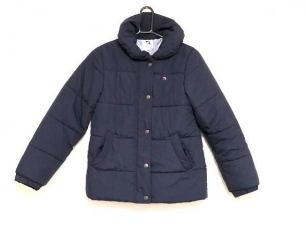 アーノルドパーマー ダウンジャケット サイズ2 M レディース美品  ネイビー 冬物