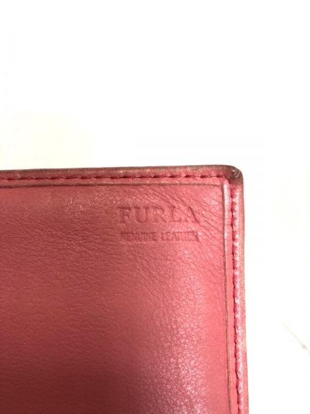 FURLA(フルラ) 長財布 ピンク リボン レザー