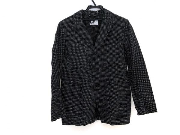 エンジニアードガーメンツ ジャケット サイズXS メンズ 黒×白 ドット柄