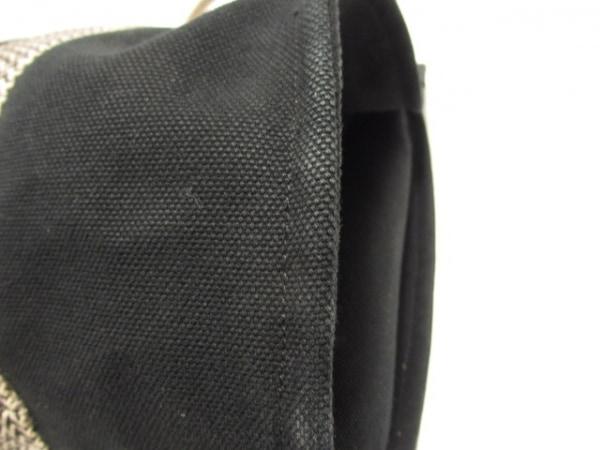 HERMES(エルメス) ハンドバッグ カンヌMM 黒×アイボリー キャンバス