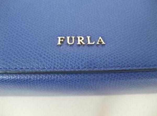 FURLA(フルラ) ハンドバッグ ブルー レザー
