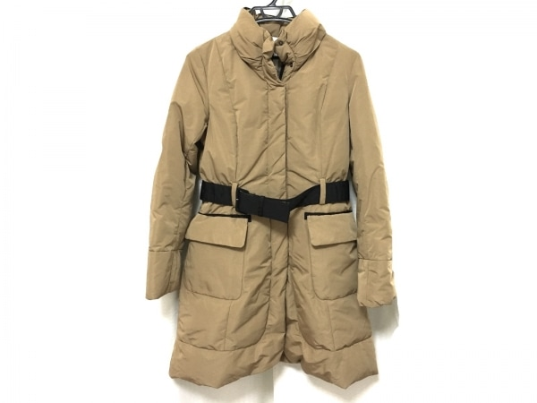 Coomb(クーム) ダウンコート サイズ40 M レディース美品  ライトブラウン 冬物