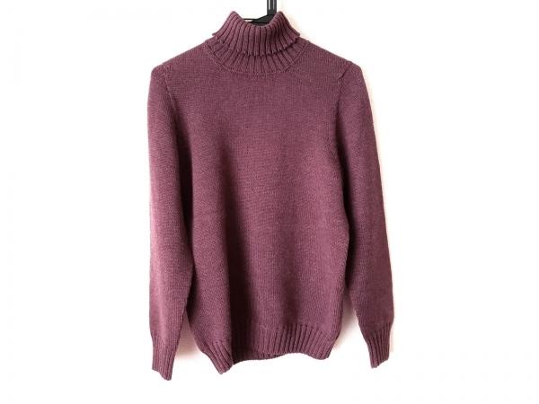 Drumohr(ドルモア) 長袖セーター サイズ46 XL メンズ レッド タートルネック