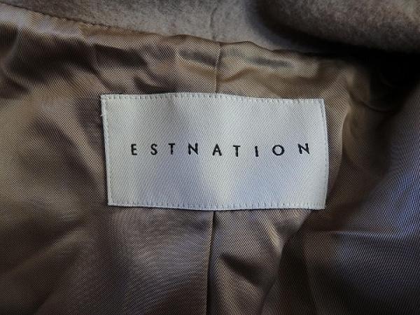 ESTNATION(エストネーション) コート サイズ36 S レディース ベージュ 冬物