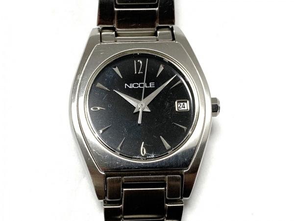 NICOLE(ニコル) 腕時計美品  NC-7069 レディース 黒