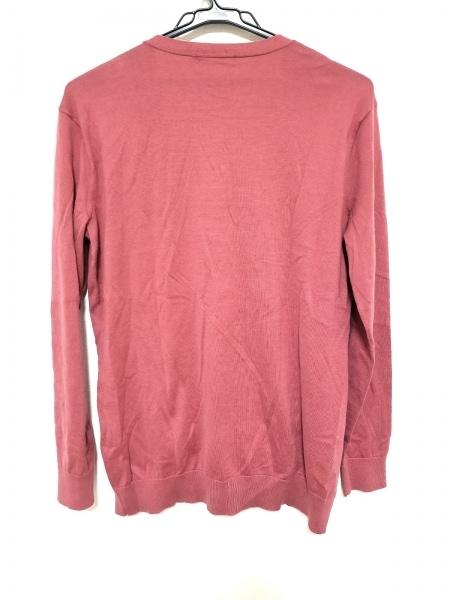 RalphLauren(ラルフローレン) カーディガン サイズL レディース美品  ピンク