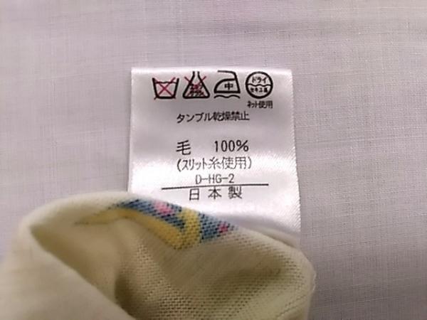 レオナール 長袖セーター サイズL L レディース アイボリー×イエロー×マルチ