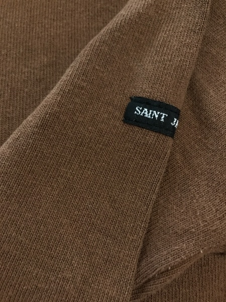 SAINT JAMES(セントジェームス) 長袖Tシャツ レディース ダークブラウン