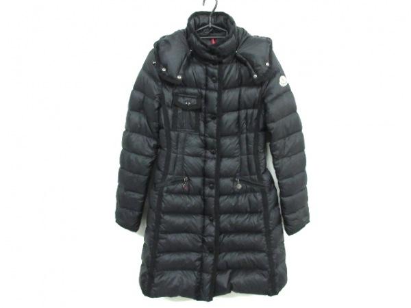 モンクレール ダウンコート サイズ00 XS レディース HERMINE(エルミンヌ) 黒 冬物