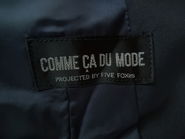 COMME CA DU MODE(コムサデモード) スカートスーツ レディース ダークネイビー