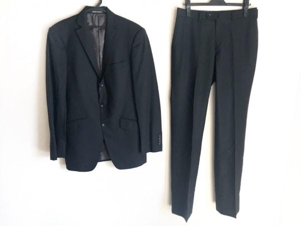 PERSON'S(パーソンズ) シングルスーツ メンズ 黒 3点セット
