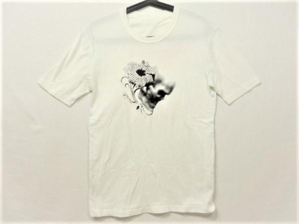 フランシストモークス 半袖Tシャツ サイズ2 M レディース 白×ピンク×ブルー