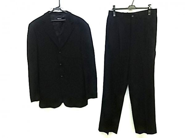 GIORGIOARMANI(ジョルジオアルマーニ) シングルスーツ メンズ 黒 シングル/肩パッド