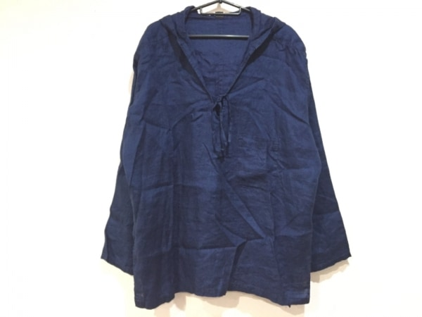Y's(ワイズ) 長袖カットソー サイズ1 S レディース美品  ネイビー