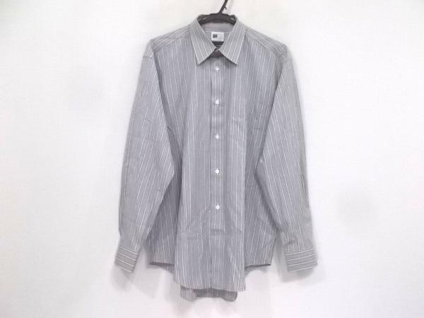 イッセイミヤケデザインスタジオ 長袖シャツ サイズL メンズ美品  ストライプ