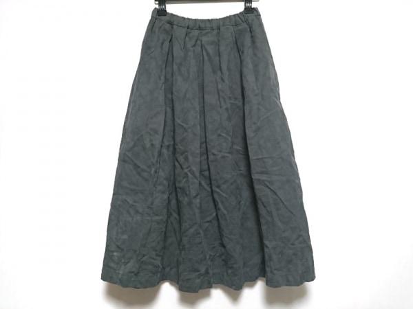 tumugu(ツムグ) スカート サイズF レディース美品  ダークグレー