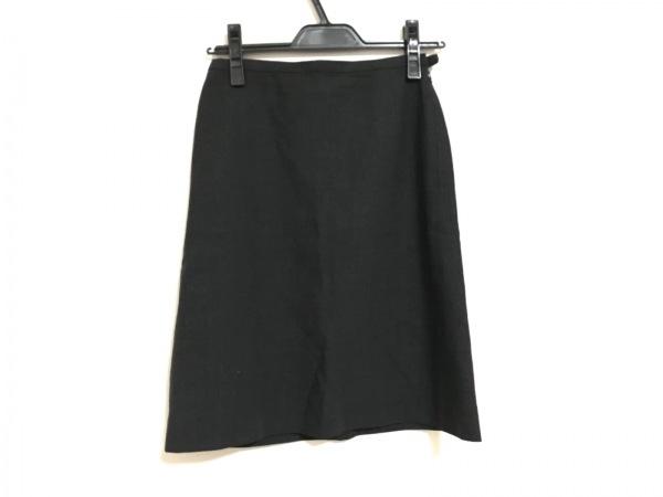 バーバリーブルーレーベル スカート サイズ36 S レディース ダークグレー