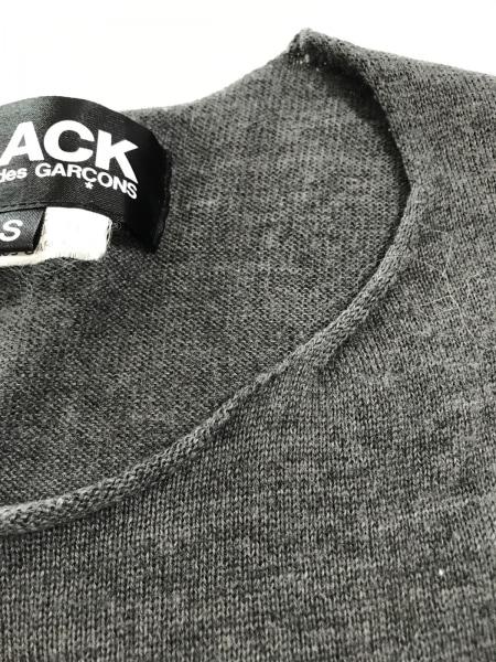 BLACK COMMEdesGARCONS(ブラックコムデギャルソン) 長袖セーター サイズS レディース