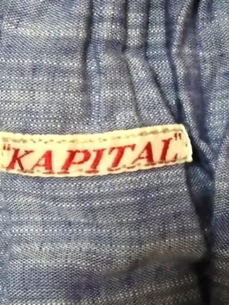 KAPITAL(キャピタル) ワンピース サイズXS レディース美品  ネイビー×ベージュ