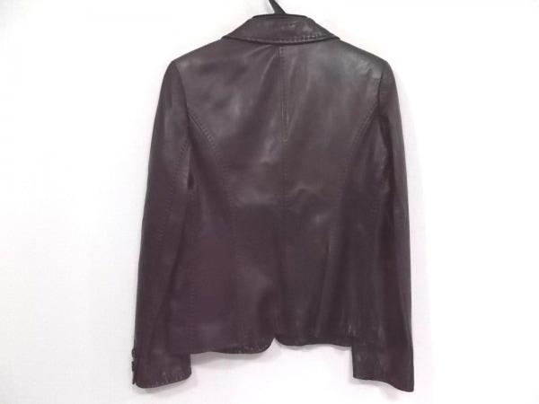 SPECCHIO(スペッチオ) ジャケット サイズ40 M レディース ダークブラウン レザー