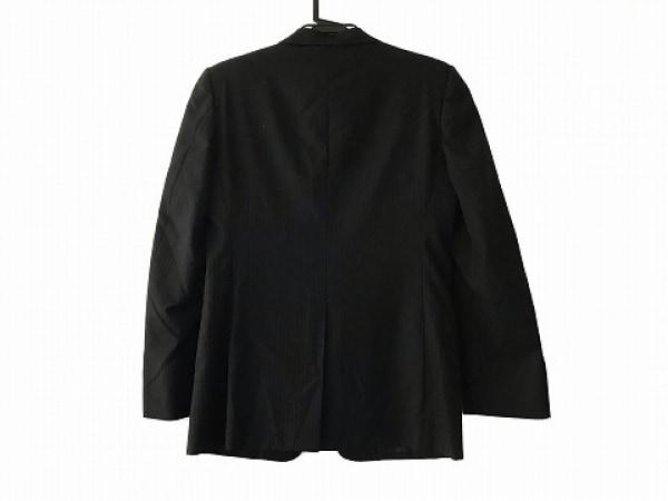 ヨシユキコニシ ジャケット サイズ46 XL メンズ美品  黒×ダークグレー