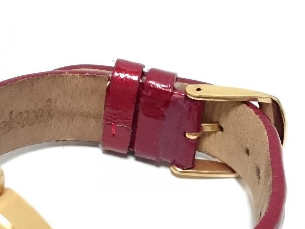 FolliFollie(フォリフォリ) 腕時計 WF1B005SP レディース 革ベルト アイボリー