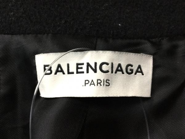 BALENCIAGA(バレンシアガ) Pコート サイズ34 S レディース 黒 冬物
