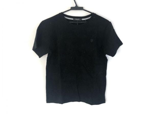 ブラックレーベルクレストブリッジ 半袖カットソー サイズ2 M メンズ美品  黒