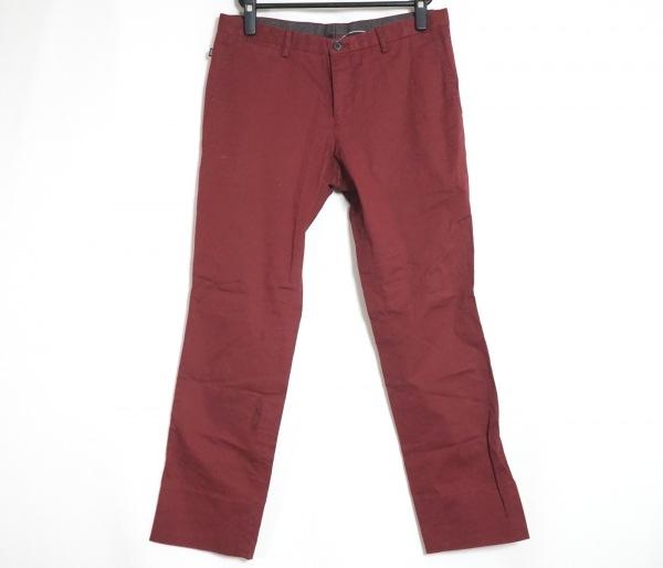 HUGOBOSS(ヒューゴボス) パンツ サイズ46(FR) メンズ ボルドー