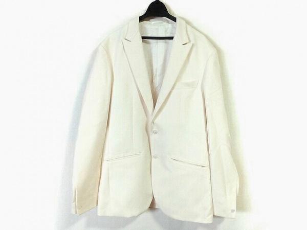 EDIFICE(エディフィス) ジャケット サイズ48 XL メンズ アイボリー