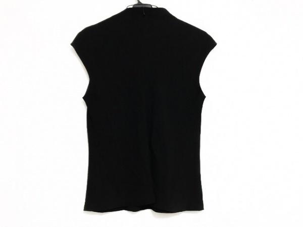 レキップ ヨシエイナバ ノースリーブカットソー サイズ9 M レディース美品  黒