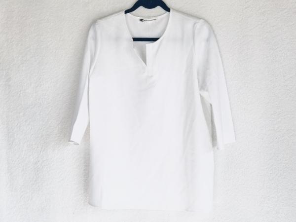 HIROKO KOSHINO(ヒロココシノ) チュニック サイズ42 L レディース美品  白