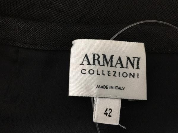 ARMANICOLLEZIONI(アルマーニコレッツォーニ) スカート サイズ42 M レディース 黒